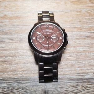 Fossil Watch Grant Chronograph Brwn Ion-plated Men